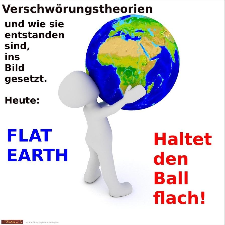 Flache Erde Theorie